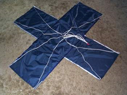 cross-shaped-parachute